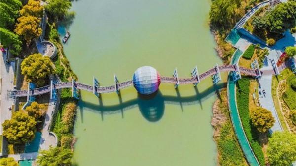 淮安:打造绿色高地 描绘生态画卷
