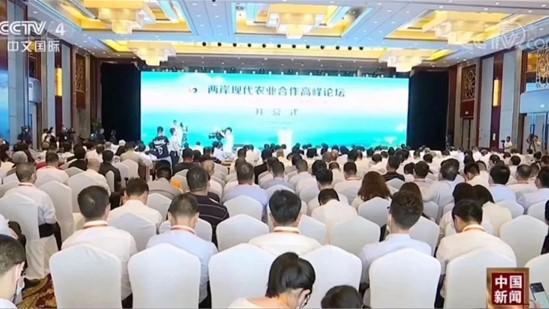 两岸现代农业合作高峰论坛在淮开幕