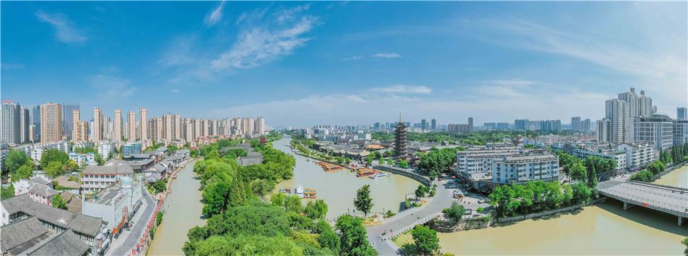 宏·观淮河生态经济带第9期 枢纽淮安强力支撑城市崛起复兴梦